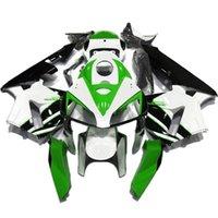 Motobike 페어링 Bodyworks 키트 혼다 CBR600RR F5 2005 2006 Bodywork Fairing + 탱크 커버 블랙 레드 ABS