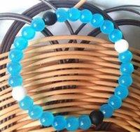 Shark Neno Bead Silicone Bracelets Balance Power Belief Colorful Balance Power Bracelets Neno Design Crystal Charms DFF4975