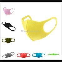 Adulto individuale sacchetto viso in testa in testa pieghevole respiratore lavabile bocca spugna maschera antipolvere maschera protettiva maschera da partito OWE815 BGG0G QGPCZ