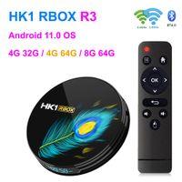 HK1 R3 R3 الروبوت الذكية صندوق التلفزيون ذكي DDR4 8GB RAM 64GB ROM RK3566 رباعية النواة 4G32G 4G 64G 8 كيلو 8 كيلو وسائط مشغل 1000 متر 2.4 / 5g المزدوج باند واي فاي BT 4.0 Android11 تعيين صناديق أعلى مع عرض