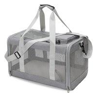 Tragbare Haustier Transporttasche für Katzen Ausflug Reise Hund Handtaschen Kleine und Hunde Atmungsaktive Katzenträger, Kisten Häuser