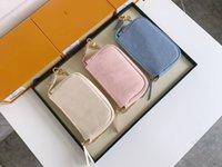 Lady Chain Designers Purse MINI ACCESSOIRES POCHETTE Clutch Bag Handbags Luxurys Messenger Canvas Leather Shoulder Bags Baging Jvjdp