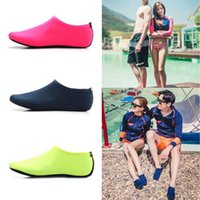 Sports Socks Fashion Unisex Water Shoes Swimming Solid Color Summer Diving Non-slip Seaside Beach