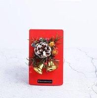 Автомобильный освежитель воздуха Рождественский подарок высушенный цветок вечный букет поздравительных открыток мини мини-аромат духи