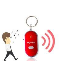 Anti-Lost Alarm Key Finder Locator Keychain Whistle-Sound mit LED-Licht-Fackel-Fernbedienung verloren 506 # 2