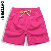 Datifer Mens Board Shorts Surf Swimwear Beach Short Man Swim Shorts Summer Male Athletic Running Gym Shorts Man Size 4XL X0712