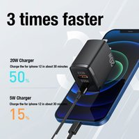 Cell Phone Chargers PD Usb Type C Charger For Iphone 12 Pro Max 11 Mini 8 X To Airpods Fast Charging Power Adapter