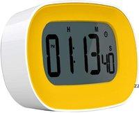 Cuisine numérique chronomètre chronomètre réveil de la minuterie gros chiffres gras 12/24 HR Time Compte du compte à rebours HWF8632