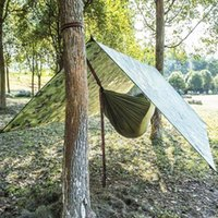 Tents And Shelters Outdoor Shelter Ultralight Tarp Camping Survival Beach Waterproof Mat Multifunctional Awning Rain T0o9