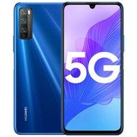 """Оригинальные Huawei Наслаждайтесь 20 PRO 5G Мобильный телефон 8 ГБ RAM 128GB ROM MTK 800 OCTA CORE Android 6,5 """"Полноэкранный экран 48mp 4000mAh Отпечаток пальца ID Smart Cell Phone"""