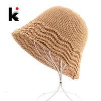 السيدات خمر مرن قبعة متماسكة متموجة حافة القش suncap شاطئ عارضة الشمس حماية القبعات النساء الصلبة لون طوي sunbonnet واسعة بريم