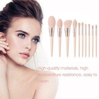 Makeup Brushes Set Powder Eye Shadow Liquid Foundation Mixed Beauty Kit Macaron Color Tools