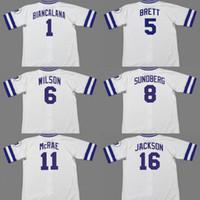 캔자스 시티 16 보 잭슨 5 조지 브렛 8 짐 썬다 베그 6 윌리 윌슨 11 Hal McRae 1 버디 비아 칼라나 야구 저지 1985