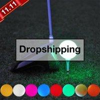 Golf Balls Night Leed Hindoor Открытый Легкий Электронный Шарик Многоцветный Дополнительный Принять оптом Эффективным