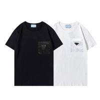 Luxurys Дизайнеры Мужские Платье Polos Сумки дизайн футболка Летние Дышащиеся Свободно Для мужчин Женщины Пара Хип-Хоп Уличная одежда Топы Мода 100% Хлопок Короткие Рукав # 96