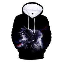 Men's Hoodies & Sweatshirts Project ZERO CHRONICLE Print Kpop Hooded Sweatshirt Men Women Casual Hip Hop Harajuku Clothes 4XL