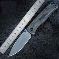 """Oimg Oem BM535-3 Bugout As Folding Mes 3.24 """"S90V Blade, carbon fiber handles Outdoor Campsite Yacht Pocket Edc Mes"""