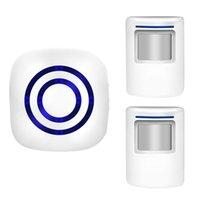 Türklinke Bewegungssensor Alarm, Wireless Home Security PIR Alert Infrarotalarmsystem 2021
