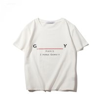 21ss Toptan Marka Tasarımcısı Erkekler Tshirt Streetwear Tops Homme Unisex Sıralaması Yaz Erkek Kısa Kollu O-Boyun T-shirt Hip Hop Tees 012