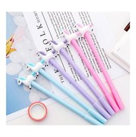 Pens Writing Supplies Office Business & Industrial Drop Delivery 2021 Gel Ink Kit Stationery Cartoon Cute School Supply Multi Colors Unique D
