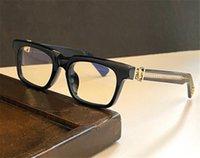 Moda Design Eyewear Ci vediamo in Tè Occhiali ottici Cornice quadrata Retrò semplice e versatile Stile Top Quality con scatola può fare prescrizione