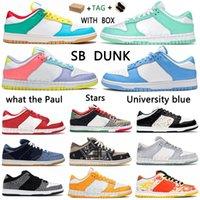 Männer Frauen SB Chunky Dunky University Blue Stars Laufschuhe Laufen Niedrig authentische dankbare tote Dunk Was der Paul Digital-Konzepte Candy Herren Sport Trainer Sneakers