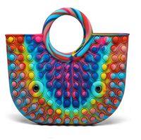 Handbag Push bubble Toys Fidget Toy Sensory Decompression Bag Large Size-TOPN296