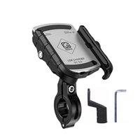 방수 12V 24V 오토바이 휴대 전화 마운트 스탠드 홀더 QC3.0 USB 빠른 충전기 오토바이 핸들 바 미러 기본 셀 마운트 홀