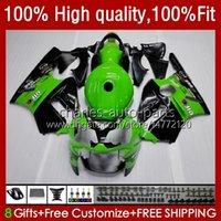 川崎忍者ZX 12 R ZX12R 03 04 05 06 52HM3緑色のZX1200 C ZX 1200 ZX 12R ZX-12R 2003 2004 2006フェアリング