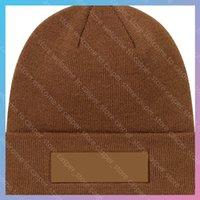 Designers Bonnet Cross Fashion Street Chapeaux Mens Bonnets Casquette Cachemmere Hiver Snapbacks Bonnet Boîte Cap Cappelli Firmati hiver chapeau 2021