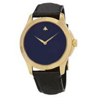 Luxo Nova Moda De Couro Bee 4 Cores Impermeável Top Presente Relógio Brand Ladies Watch com caixa original Quartz Watch Atacado 03