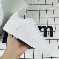 Dunk Ayakkabı Hava Kuvvetleri AF1 Klasik Beyaz Siyah Yüksek ve Düşük Çalışan Sneakers