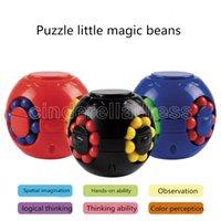 DHL 2021 Magic Quebra-cabeças Fidget Cubo Brinquedos Bundle Feijão de Bola de Estrela Anti Ansiedade Relief Decompression para Adultos Crianças FY9408
