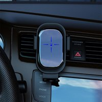 Cell Phone Mounts & Holders 15W QI Wireless Charger Car Mount For Air Vent Holder Intelligent Infrared Fast Charging