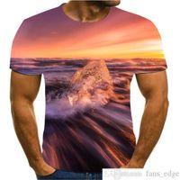 2020 Nuevo Retro Belleza de moda camiseta 3D Expresión divertida hombres Mans Camiseta Star Singer Music Shirt Mensaje corto de verano