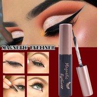5ml Black Magnetic Liquid Eyeliner For Magnet False Eyelashes Glue-free Magic Self-adhesive Waterproof No Blooming Pen