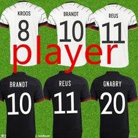 Almanya 2021 Oyuncu Futbol Forması Ev Kiti Hummels Kroos Draxler Reus Muller Gotze Avrupa Kupası Futbol Gömlek Üniformaları