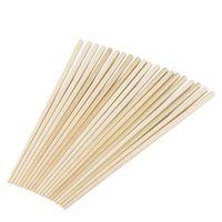 Essstäbchen 10 Paare 24 cm lang beige Bambus chinesische traditionelle Küche
