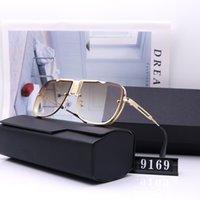 أزياء نظارات عالية الجودة مصمم أعلى جديد ديتا 9169 رجل امرأة عارضة نظارات العلامة التجارية الشمس عدسات شخصية نظارات مع صندوق القضية