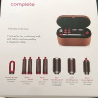 8 Heads Multi-function Hair Styling Device Hair Dryer Automatic Curling Iron Gift Box For Rough and Normal Hair Curling Irons