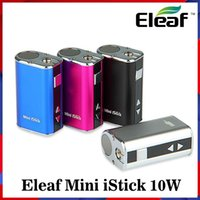 Foneeaf Mini Istick Kit 1050mAh Bateria Bateria 10W Máx máximo Variável Variável Tensão Mod 4 Cores com USB Cable Connector Ego Enviar rápido