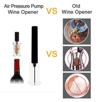 Air Pump Wine Bottle Openers Stainless Steel Pin Type Pumps Corkscrew Cork Out Tool Kitchen opening Tools Bar Accessories KKB7019