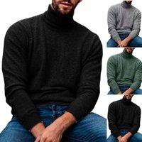 Sudaderas con capucha para hombre Sudaderas Hombres Tortuga Cuello de punto Sweater Llanil Sweater Top Top Blusa Blusa Top