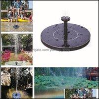 Patio, Lawn Garden Home & Gardengarden Decorations Pond Fountain Pump Solar Water Outdoor Decoration Decorative Bath Pumps Flower Pots Plant
