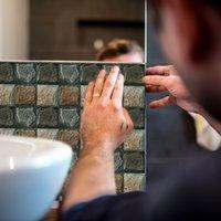 imitation marmor mosaik kakel vägg klistermärke yta belagd kök toalett matsal dekorativa tapeter
