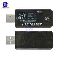 Интегрированные схемы 8-в-1 QC 2.0 3.0 4-30V Электрическая мощность USB Напряженная емкость Тестер Тестер Тестер Измеритель Монитор Вольтметр Амперметр