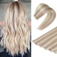Ugeat Invisible Tape in Human Hair Extensions Seamless Skin Weft Natural Soft Virgin Rejection Extensions 2.5G Piece