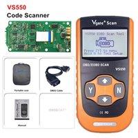Codice lettori Strumenti di scansione Prezzo all'ingrosso OBDII OBD2 VGATE VS550 Scanner Eeor Reader Auto / Auto Diagonstic Tool per VA-G