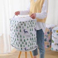 Große Kapazität Cube Folding Wäschekorb Schmutzige Kleidung Spielzeug Quilt Aufbewahrungsbox Kordelzug Bag Organizer Eimer Bin Picknickkörbe CCF8578