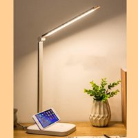 Table Lamps Foldable Touch Switch LED Lamp 3 Colors Lighting 7W USB Chargeable Reading Eye-protect Student Desk